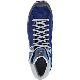 Haglöfs Roc Lite Zapatillas Mid Hombre, tarn blue/blue fox